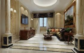 Pictures Of Columns In Living Room Dining House Design View Larger Houses Construction Wall Id