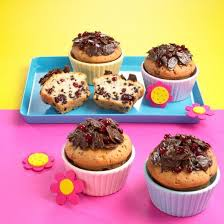 schokino muffins mit schoko mandeln