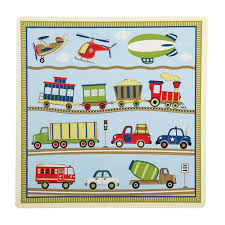 Transportation Toddler Bedding by Transportation Themed Moving All Around Kids Table U0026 2 Chairs Set