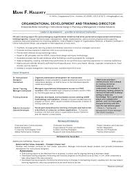 Training Manager Resume Simple Sample And Development Mv E19475