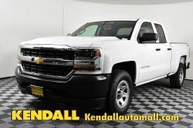 New 2018 Chevrolet Silverado 1500 Work Truck 4WD In Nampa #D181351 ...