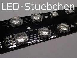 elektronische bauelemente 50x led linse optik 60 für 5050
