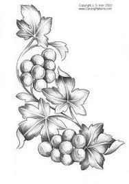 free pyrography patterns grapes patterns pattern package