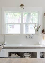 Vintage Whites Blog Farmhouse Sink Budget Kitchen Remodel