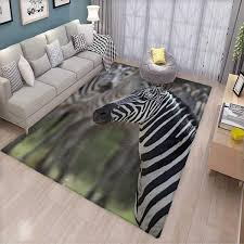 Amazoncom African Girls Bedroom Rug Zebra In Serengati National