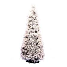 7 Ft Slim Snowy Christmas Tree by Christmas Trees U2013 Next Day Delivery Christmas Trees From