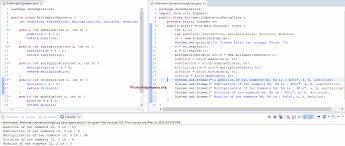 Java Math Ceil Int by Java Arithmetic Operators