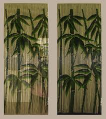 bamboo curtains are keeping your family room cool at a price that