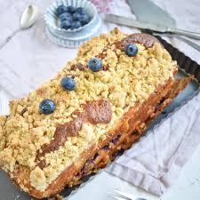 rezept für einen blaubeer joghurt kuchen mit streuseln