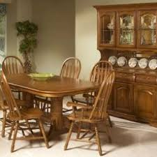 Pretty Ideas Oak Dining Room Sets With Hutch Ebay Set China Cabinet Chairs Solid Furniture For