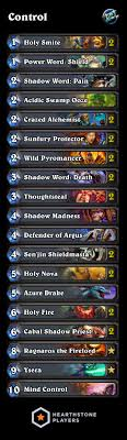 priest deck august 2017 hearthstone priest deck list legend rank