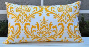 decorative pillows yellow interior design ideas small space gray