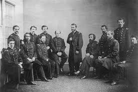 Ulysses S Grant And Staff