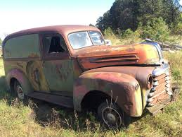 100 Panel Trucks 1947 MERCURY PANEL TRUCK