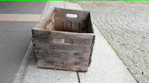 holz alt shabby kiste holzkiste truhe box in 4840