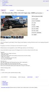 At $4,000, Could This 1992 Mercedes 300TE Be Your Long Term Longroof? Truckdomeus Craigslist Toyota Trucks Car And For Sale By Owner In Mcallen Tx Best Nj Cars Apartments Troy Ny Enchanting Trust Bert Ogden Chevrolet New Used Auto Loans And California 2017 Craigslist Dallas Cars Low Down Payments Youtube Sf Beautiful Los Angeles Of Twenty Images San Diego Sf Bay For In January 2013 Star Central Famous Movie Tv Car News