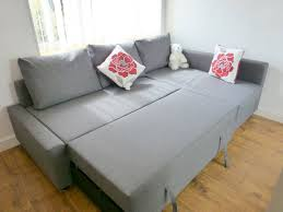 Friheten Corner Sofa Bed Cover by Light Gray Friheten Ikea Sofa Bed With Pillows And Floral Cushions