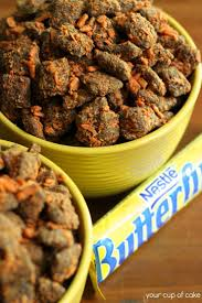 Halloween Candy Dish Dog Food by Butterfinger Puppy Chow Recipe Puppy Chow Snacks And Food
