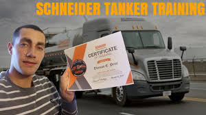 Schneider National Houston Tanker Training Review. Week 1 - YouTube