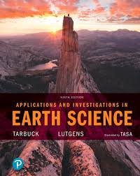 Applications And Investigations In Earth Science 9th Edition