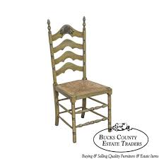 Cape Ann Vintage Green Painted Rush Seat Ladder Back Side ... 6 Ladder Back Chairs In Great Boughton For 9000 Sale Birch Ladder Back Rush Seated Rocking Chair Antiques Atlas Childs Highchair Ladderback Childs Highchair Machine Age New Englands Largest Selection Of Mid20th French Country Style Seat Side By Hickory Amina Arm Weathered Oak Lot 67 Set Of Eight Lancashire Ladderback Chairs Jonathan Charles Ding Room Dark With Qj494218sctdo Walter E Smithe Fniture Design A 19th Century Walnut High Chair With A Stickley Rush Weave Cape Ann Vintage Green Painted