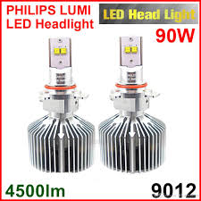 Philips Lamps Cross Reference by 9012 Hir2 45w Bulb 4500lm Lumiled Headlight Beam Luxeon Mz Xenon