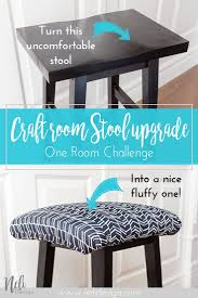 How To Upholster A Square Stool | Crafts And Sewing | Diy ...