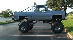 SWEET REDNECK CHEVY FOUR WHEEL DRIVE PICKUP TRUCK FOR SALE IN ...