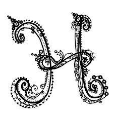 Fancy Letter H Designs The Best Letter Sample