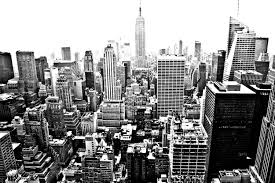 Free Coloring Page New York Gratte Cliel Adult From A Birds Eye View Of With Lot Skyscrapers To Be Color