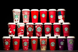 How A Cup Became Tradition 20 Years Of Starbucks Holiday Cups