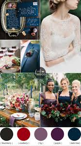 Berry And Fig Wedding Theme With Luxe Rustic Style For Fall