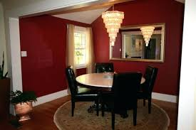Red Dining Rooms Accent Wall Room Cheerspub Best Images