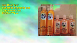Bed Head Moisture Maniac by Bed Head Self Absorbed Shampoo And Conditioner Duo Youtube