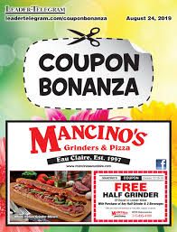 Coupon Bonanza   August 2019 By Leader Telegram - Issuu Farm To Feet Coupon Code Smart Park Parking Promo 14 Active Zaxbys Promo Codes Coupons January 20 Best Black Friday 2019 Deals From Amazon Buy Walmart Toppers Codes Pizza Deals In West Michigan For National Day 20 Off Tiki Hut Coffee December Pizza Coupons Ventura Apple Store Student 2018 Most Popular A Dealicious And Special Offer Inside Coupon Futon Shop Czech Art Supplies Mankato Paulas Choice Europe Us How Is Salt Water Taffy Made