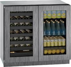 Uline Storage Cabinets Assembly Instructions by U Line U3036bvwcint00b 36 Inch Built In Beverage Center And Wine