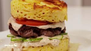 käse makkaroni burger