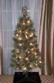 4ft Christmas Tree Walmart by Holiday Time Pre Lit 4 U0027 Cashmere Artificial Christmas Tree Clear