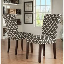 Printed Fabric Dining Room Chairs How To Recover A Ding Room Chair Tessie Fay Black Fabric Chairs Seat Cushions Zf Collections Apart With Wood Print Metal Legs Set 10 Cream Brown Beautiful Abstract Pattern Loving Tango And James Black White Prints Home And Such In Fniture Cheap Parsons For Match Your Table Chair Slipcover Tutorial How Make Parsons Impressive Reupholstering With Bestchoiceproducts Best Choice Products Of 4 Midcentury Modern Amazoncom Christopher Knight Home Kalee Yellow Grey