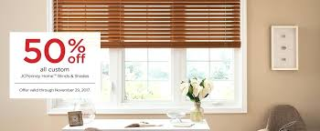 The Most Contemporary Window Blinds Jcpenney Residence Decor Wood