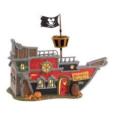 Dept 56 Halloween Village by Amazon Com Department 56 Snow Village Halloween Mickey U0027s Pirate