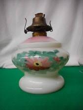 Whale Oil Lamps Ebay by Milk Glass Oil Lamp Ebay