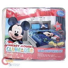 mickey mouse clubhouse twin bedding mickey mouse bedding sets
