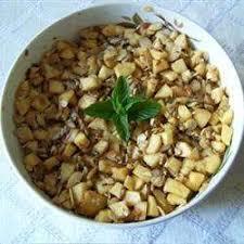 cuisine tunisienne juive recette haroset aux pommes et aux noix toutes les recettes