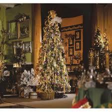 GKI Bethleham Lighting 95 Pre Lit Slim Douglas Fir Artificial Christmas Tree Clear Lights 171433