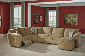 Chocolate Corduroy Sectional Sofa by Ashley Furniture Corduroy Sectional U0026 Ashley Furniture Homestore