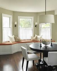 Dining Room Bay Window Treatments 30 Decorating Ideas Blending Functionality With Modern Best