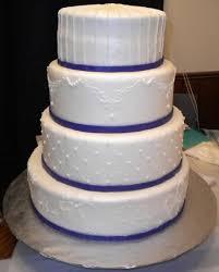 October 14 2010 White And Purple Wedding Cake 12 10 8 Round