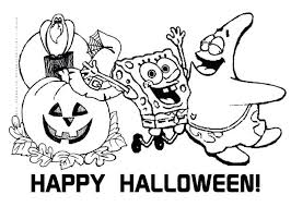 Coloring Pages Halloween Costumes Masks Free Printable Kids Sheets Online Scary