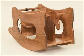 rocking horse high chair plans woodworking at home